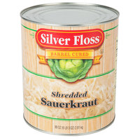 Silver Floss #10 Can Sauerkraut - 6/Case