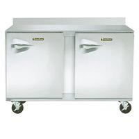 Traulsen ULT48-RR-SB CU48TOP-BSWO 48 inch Two Door Worktop Freezer