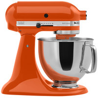 KitchenAid KSM150PSPN Persimmon Artisan Series 5 Qt. Countertop Mixer