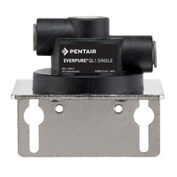 Everpure EV9256-20 QL1 Single Filter Head - 1/4 inch NPT (John Guest)