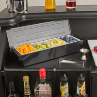 Choice 4 Compartment Condiment Holder