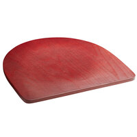 Lancaster Table & Seating Chair / Barstool Mahogany Finish Wood Seat
