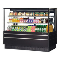 Turbo Air TCGB-72UF-W-N White 72 inch Flat Glass Refrigerated Bakery Display Case