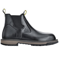 ACE 68357 Firebrand Men's Black Water-Resistant Soft Toe Non-Slip Work Boot