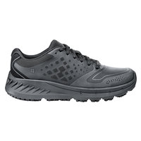 Shoes For Crews 26410 Flair Women's Black Water-Resistant Soft Toe Non-Slip Athletic Shoe