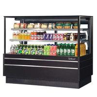 Turbo Air TCGB-48UF-B-N Black 48 inch Flat Glass Refrigerated Bakery Display Case