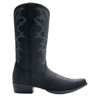 Shoes For Crews 45312 Billy II Men's Black Water-Resistant Soft Toe Non-Slip Cowboy Boot