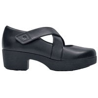 Shoes For Crews 48366 Galla Women's Black Water-Resistant Soft Toe Non-Slip Casual Shoe
