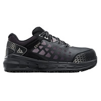 ACE 74378 Aster Women's Black / Gray Water-Resistant Aluminum Toe Non-Slip Athletic Shoe