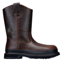 ACE 77609 Bronco II Unisex Brown Waterproof Composite Toe Non-Slip Work Boot