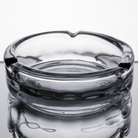 Anchor Hocking 44912 5 3/4 inch Round Glass Ashtray - 6/Case