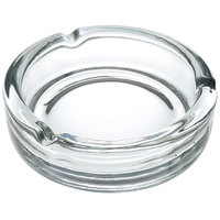 Anchor Hocking 44912 5 3/4 inch Round Glass Ashtray - 6 / Case
