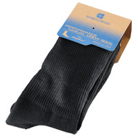 Shoes For Crews S1810 Unisex Black Crew Sock