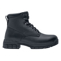 Shoes For Crews 60654 August Women's Black Water-Resistant Soft Toe Non-Slip Work Boot