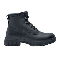 Shoes For Crews 60435 Rowan Men's Black Water-Resistant Soft Toe Non-Slip Work Boot