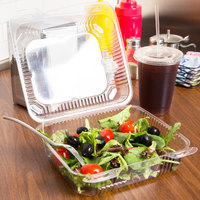 Clear Plastic Takeout Containers Webstaurantstore