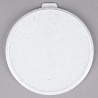 Cambro CLRSB9490 Speckled White Reusable CamLid for Shoreline MDSB9 9 oz. Bowls - 240/Case