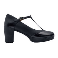 Shoes For Crews 57280 Ruby Women's Black Water-Resistant Soft Toe Non-Slip Dress Shoe