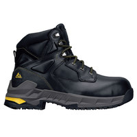 ACE 76747 Burren Unisex Black Water-Resistant Composite Toe Non-Slip Work Boot