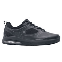 Shoes For Crews 29167 Revolution II Women's Black Water-Resistant Soft Toe Non-Slip Athletic Shoe
