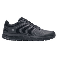 Shoes For Crews 21076 Course Women's Black Water-Resistant Soft Toe Non-Slip Athletic Shoe