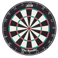 Escalade Sports 60002 The Bandit 18 inch x 1 1/2 inch Staple-Free Bristle Dart Board
