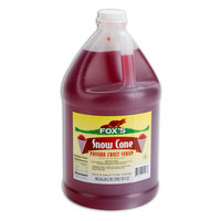 Fox's 1 Gallon Passion Fruit Snow Cone Syrup   - 4/Case