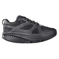 Shoes For Crews 28500 Energy II Women's Black Water-Resistant Soft Toe Non-Slip Athletic Shoe