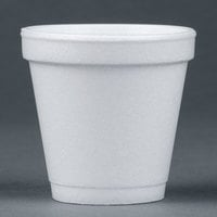 Dart Solo 4J4 4 oz. White Foam Cup 50 / Pack