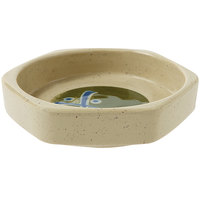 GET 038-TD Japanese Traditional 3 oz. Dish - Hexagonal - 12/Case
