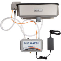 Nemco 3000-19 RinseWell Smart Eco Rinse Dipper Well Controller with 19 inch Dipper Well