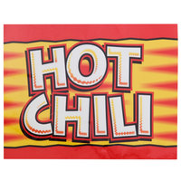 APW Wyott 21770200 Hot Dog Chili Topping Transparency for LW-4PKG Heated Countertop Warmer