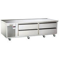 Traulsen TE072LT 4 Drawer 72 inch Freezer Chef Base
