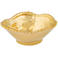 Pampa Bay CER-1137-GD Monaco 7 oz. Gold Titanium-Plated Porcelain Round Bowl