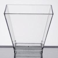 WNA Comet APTSQSHOT2 Petites 1.75 oz. Square Plastic Tasting Glass   - 40/Pack