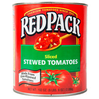 Red Gold #10 Can Redpack Sliced Stewed Tomatoes