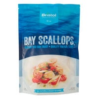 1 lb. IQF 80-120 Count Bay Scallops   - 12/Case