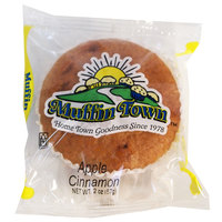 Muffin Town 2 oz. Individually Wrapped Apple Cinnamon Muffin - 72/Case