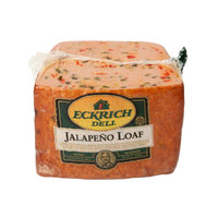 Eckrich 3.25 lb. Jalapeno Deli Loaf - 3/Case
