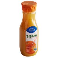 Tropicana 12 fl. oz. No Pulp Pure Premium Orange Juice - 12/Case
