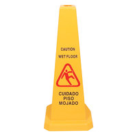 27 inch Wet Floor Cone-Shaped Sign