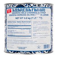 Fabbri 7 lb. Amarena Cherries 18/20 in Syrup