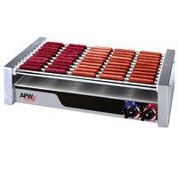 APW Wyott HR-50 30 1/2 inch Flat Top Hot Dog Roller Grill - 208/240V