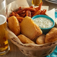 Icelandic 3 oz. Brewer's Choice Wild Caught Beer Battered Cod Fillets - 10 lb.