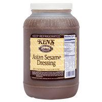 Ken's Foods 1 Gallon Asian Sesame Dressing - 4/Case