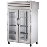 True STR2HPT-2G-2S Specification Series Two Section Pass-Through Heated Holding Cabinet