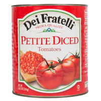 Dei Fratelli #10 Can Petite Diced Tomatoes with Juice - 6/Case