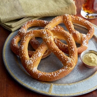 Dutch Country Foods 4-Pack 4 oz. Pack Handmade Amish-Style Soft Pretzels   - 12/Case
