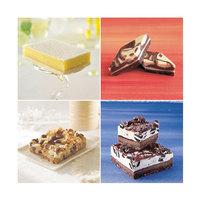 Sweet Street 8 inch x 13 inch Unsliced Dessert Bar Variety Pack - 4/Case