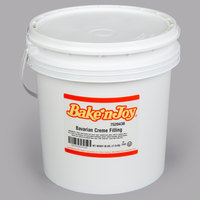 Bake'n Joy 38 lb. Bavarian Creme Filling Pail